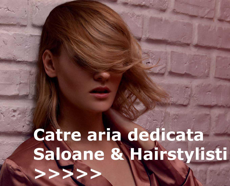 Spre sectiunea dedicata saloanelor si hairstylistilor