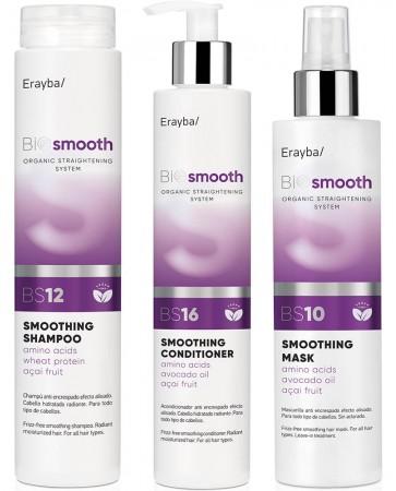 Pachet pentru netezirea și calmarea părului indisciplinat sau întreținere păr îndreptat