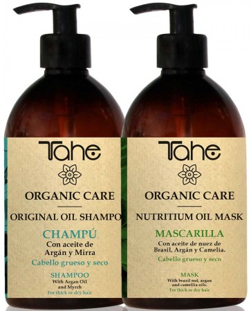 Pachet Organic Care: sampon + tratament masca
