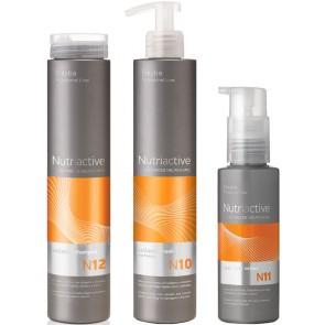 Pachet îngrijire cu colagen, elastin și acid hialuronic: sampon + masca + acid hialuronic