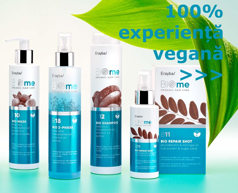 BIOme - îngrijire vegană pentru păr
